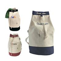Cotton Canvas Sailor Shoulder Bags